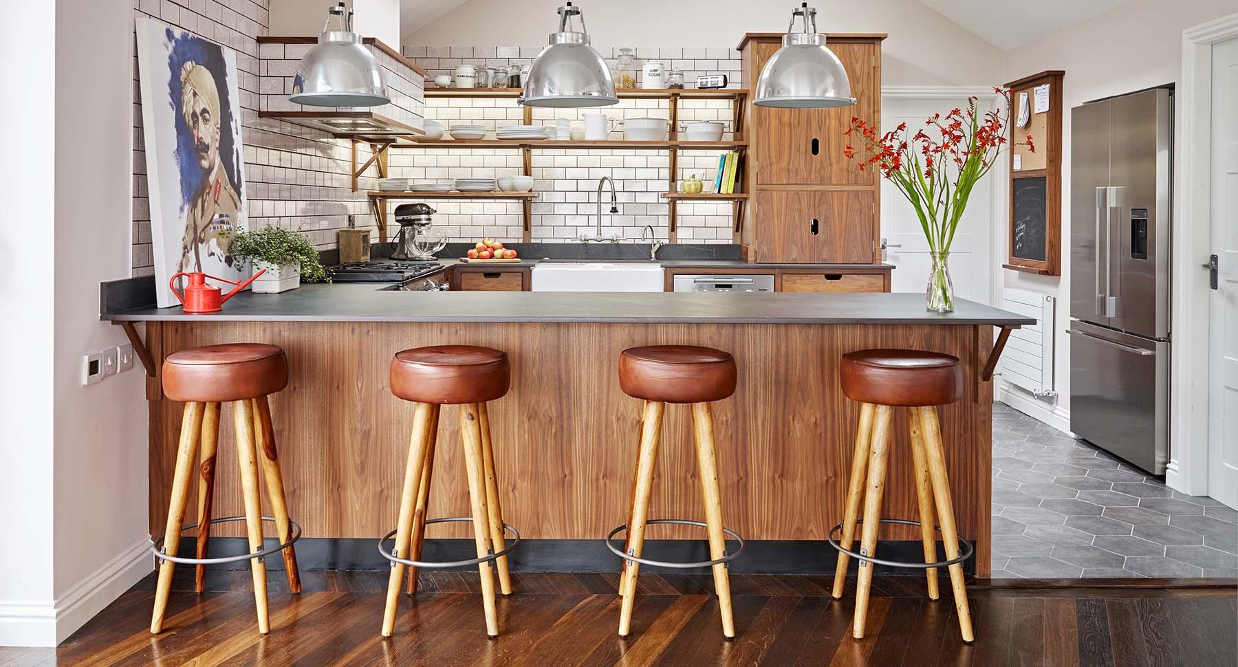4 Mid-century style Scandinavian style kitchen