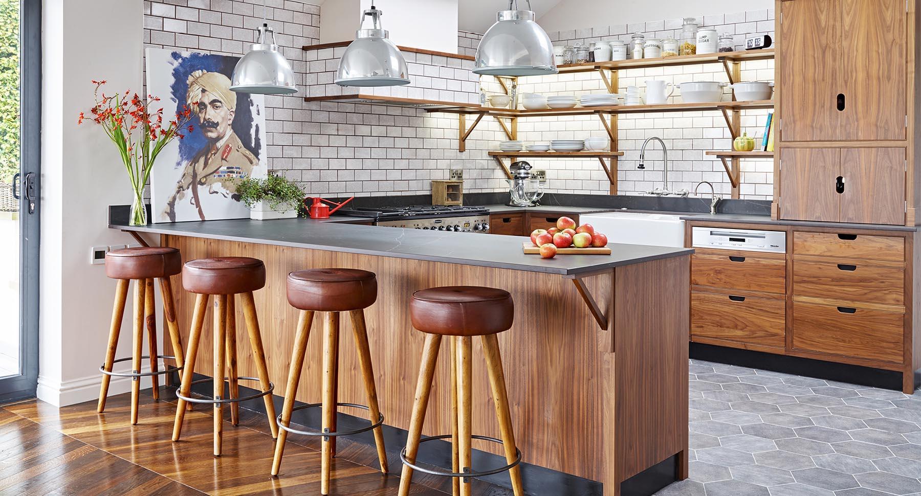 5 Mid-century style Scandinavian style kitchen